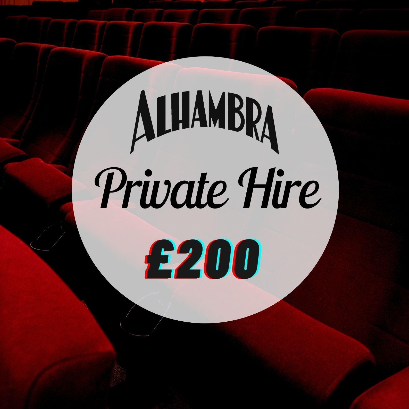 Private Hire- Screen 1- £200
