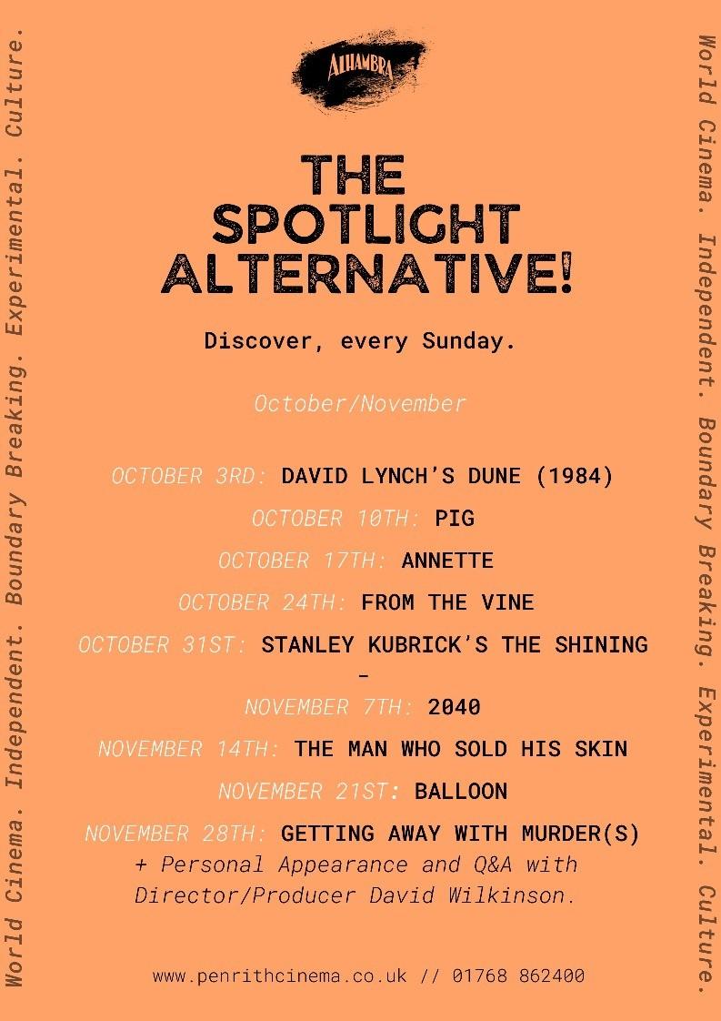 Spotlight, Event, Virtual