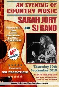 Sarah Jory & Band