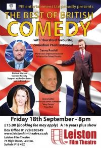 Best of British Comedy Night