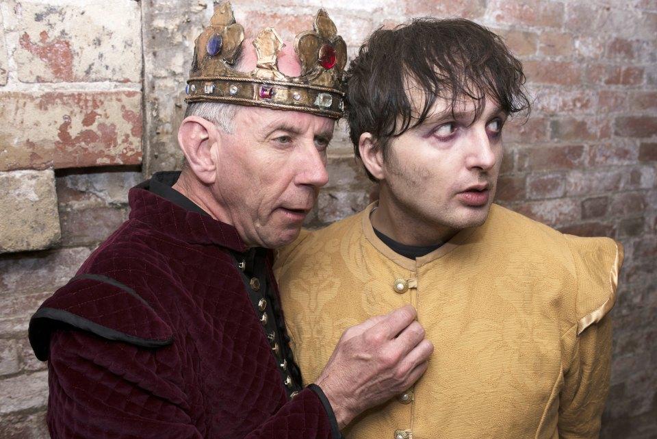 Ian Bennett and Neil Duckmanton in King John (2015)