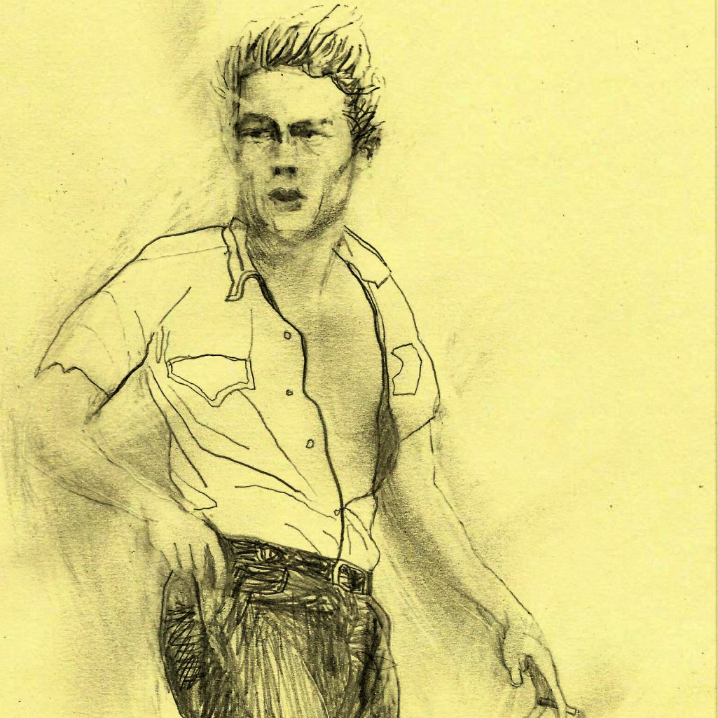 James Dean naked and 'lots of pretty ladies'