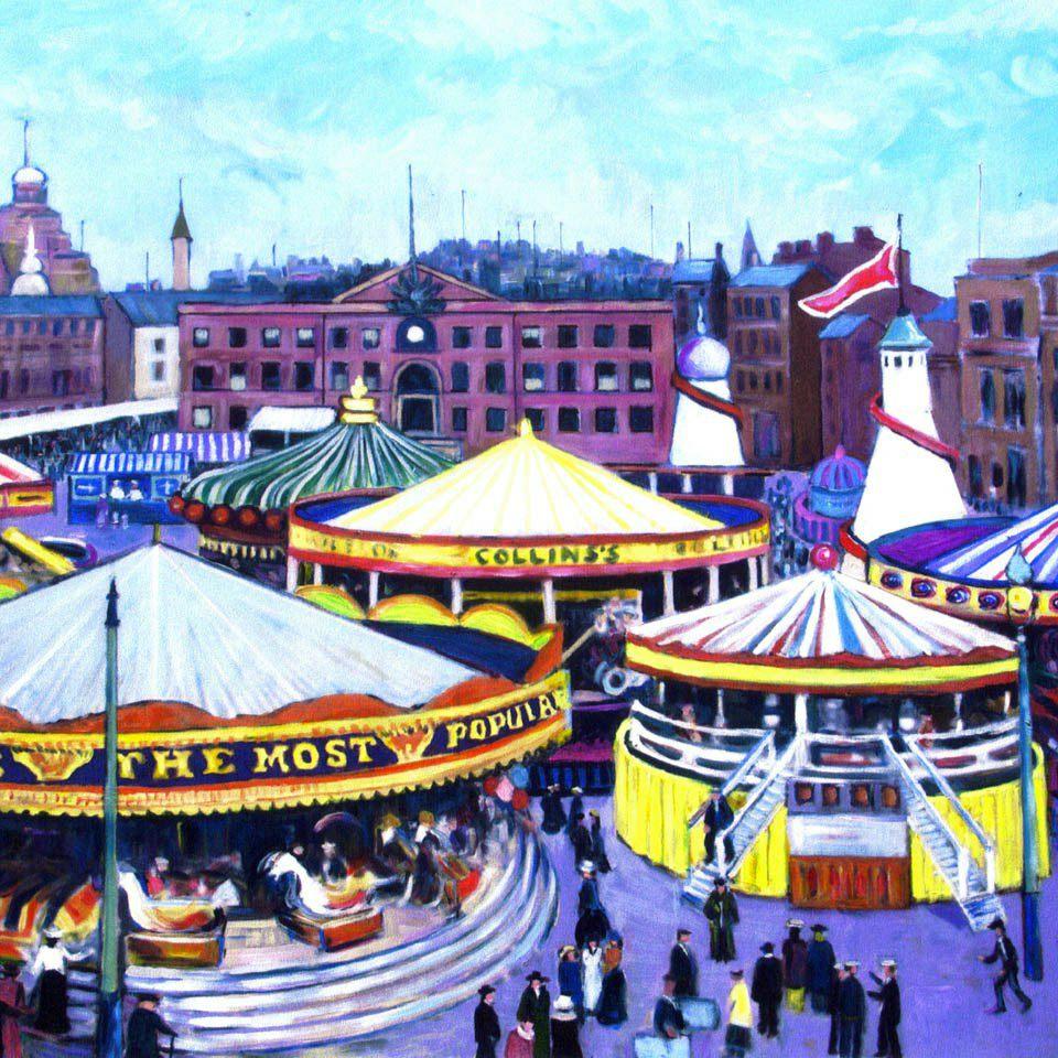 "Art Exhibition During ""The Pitmen Painters"""