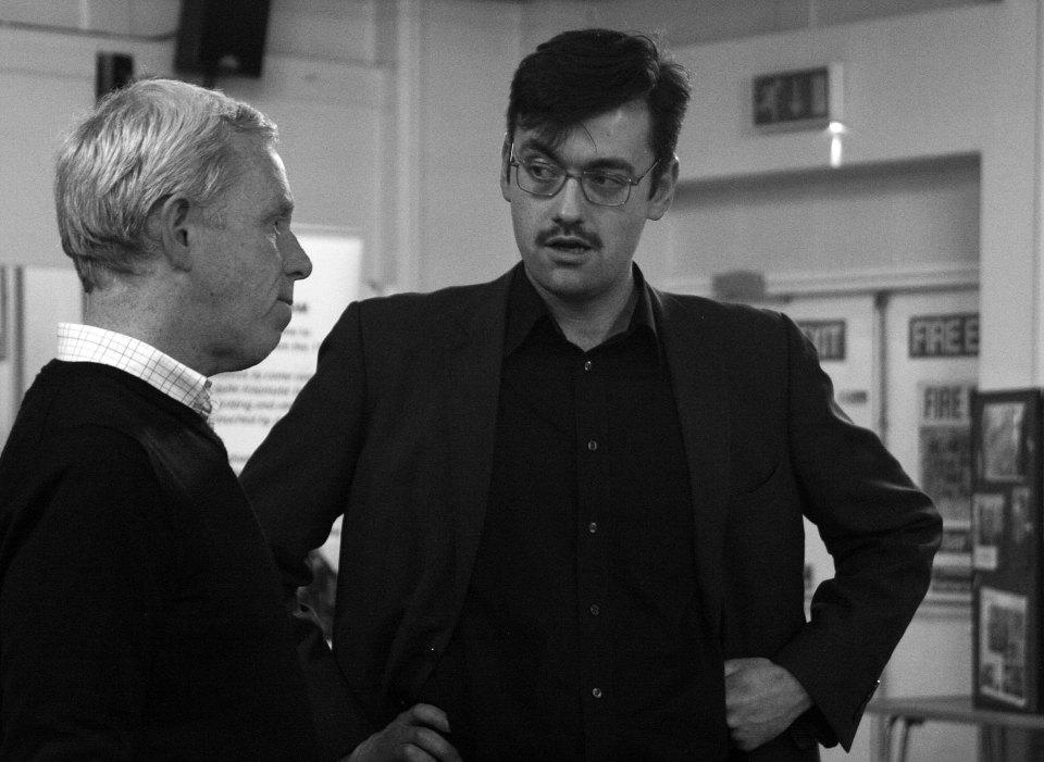 Fraser Wanless and Oliver Lovley in The Pitmen Painters (2015)
