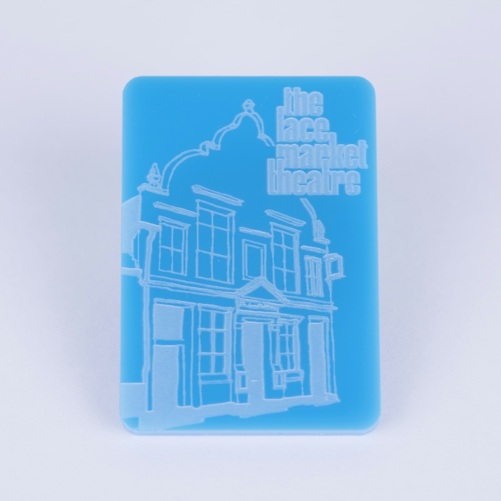 Fridge Magnet (blue)