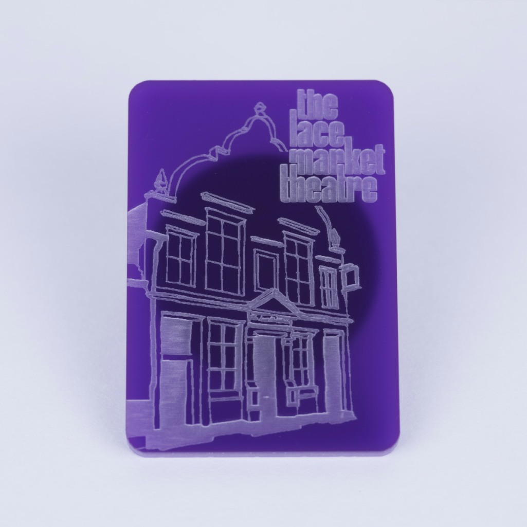 Fridge Magnet (purple)