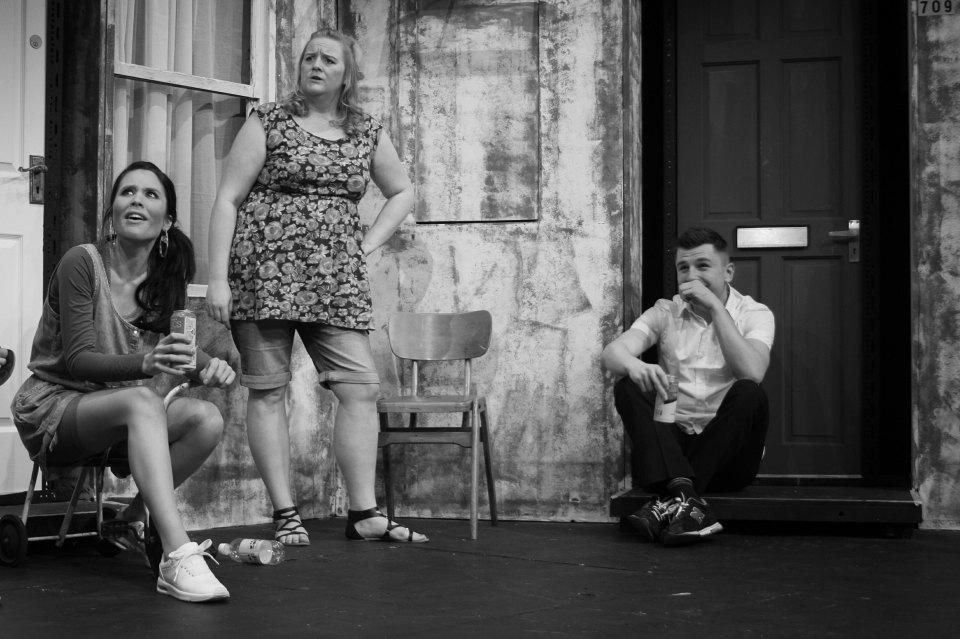 Rosina, Jemma and Sean in Beautiful Thing, 2016
