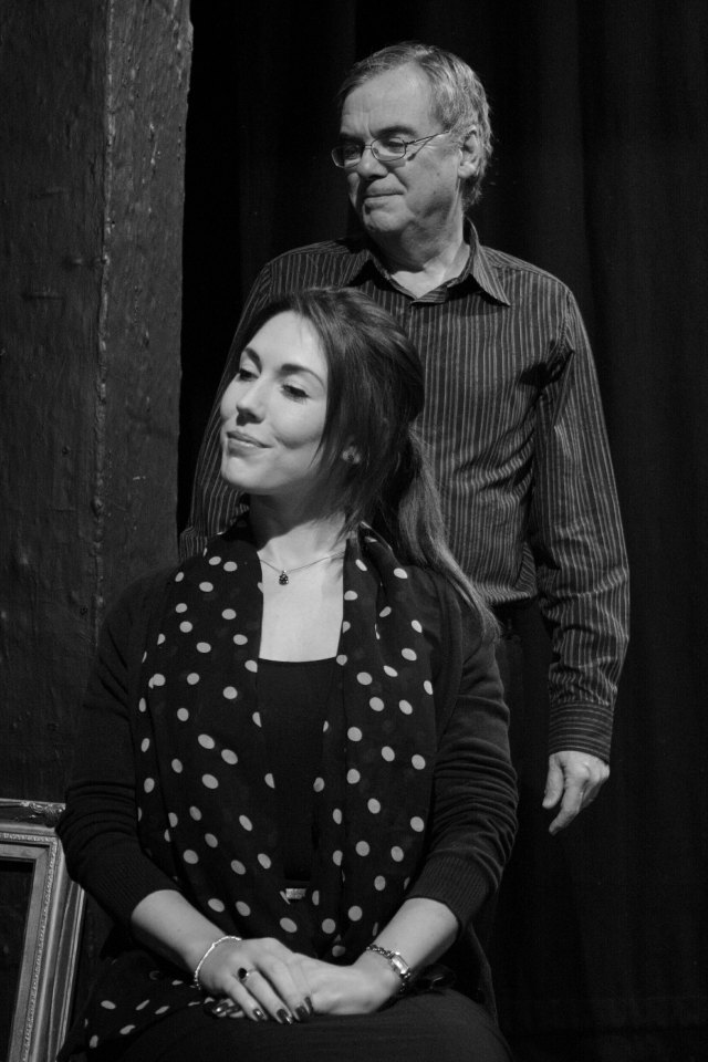 Amy Farmer and John Anthony in A Woman of No Importance, 2016