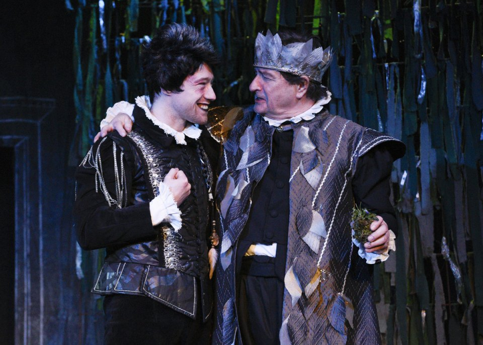Chris and Andy in A Midsummer Night's Dream, 2016