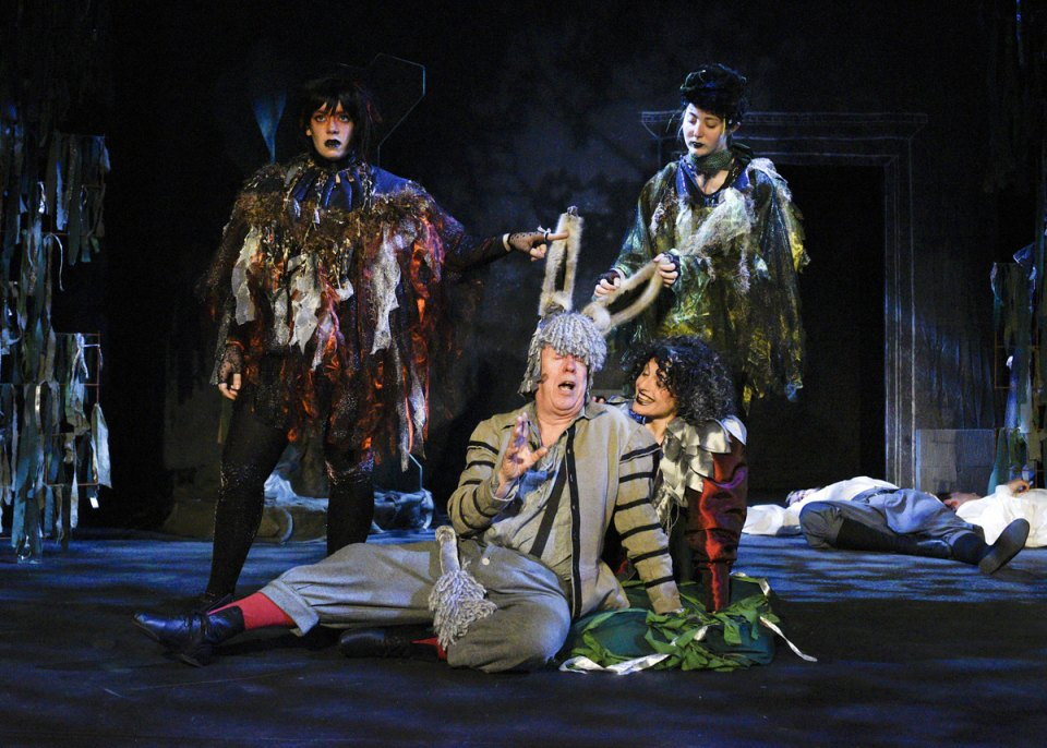 Immi, Ian, Lucy and Kay in A Midsummer Night's Dream, 2016