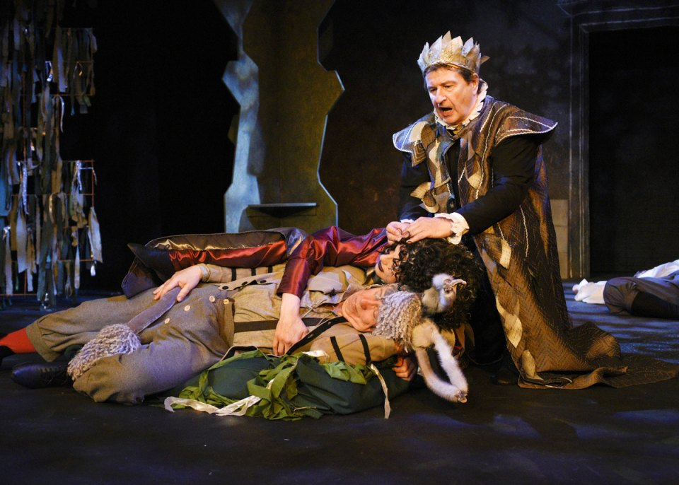 Andy, Kay and Ian in A Midsummer Night's Dream, 2016