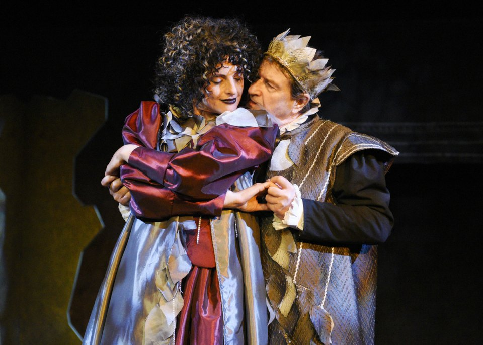 Kay and Andy in A Midsummer Night's Dream, 2016