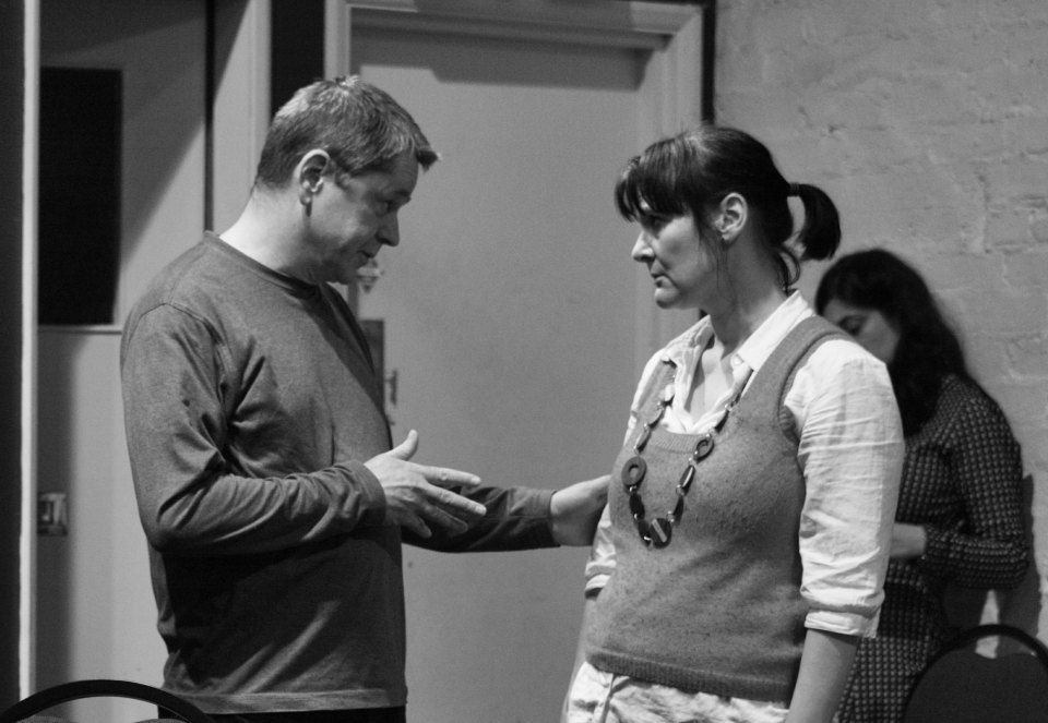 Trev Clarke and Dawn Price in Benefactors
