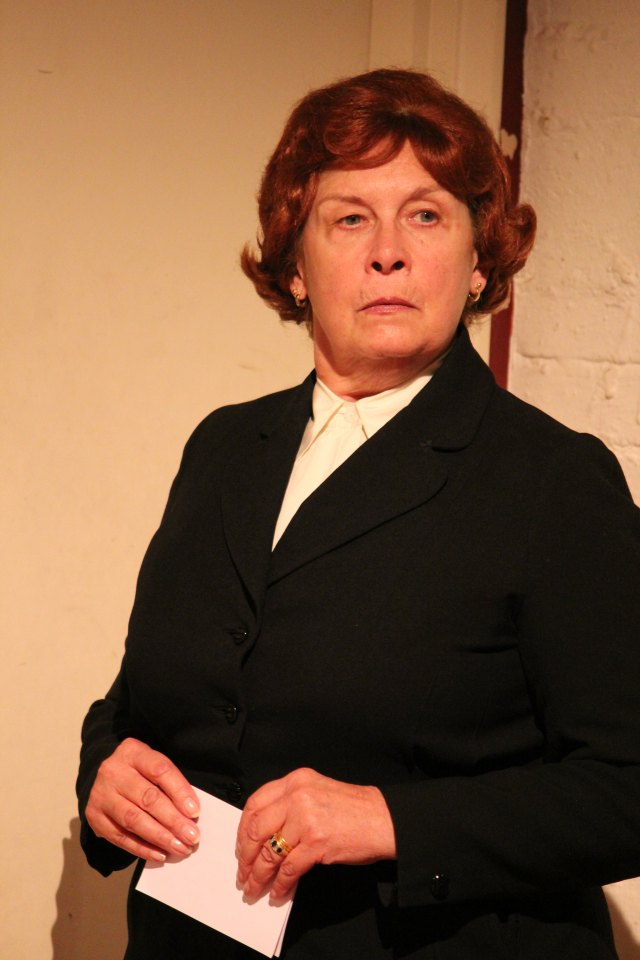 Linda Croston in An Englishman Abroad, 2016