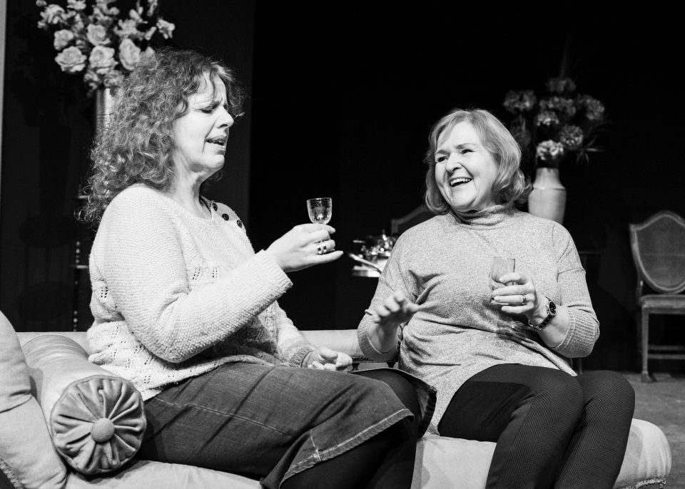 Alison Hope and Carol Parkinson in Glorious!, 2017