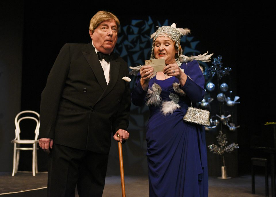 Max Bromley and Carol Parkinson in Glorious!, 2017