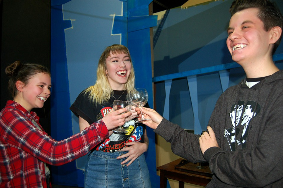 Terry Pratchett's Carpe Jugulum to be performed by youngsters...
