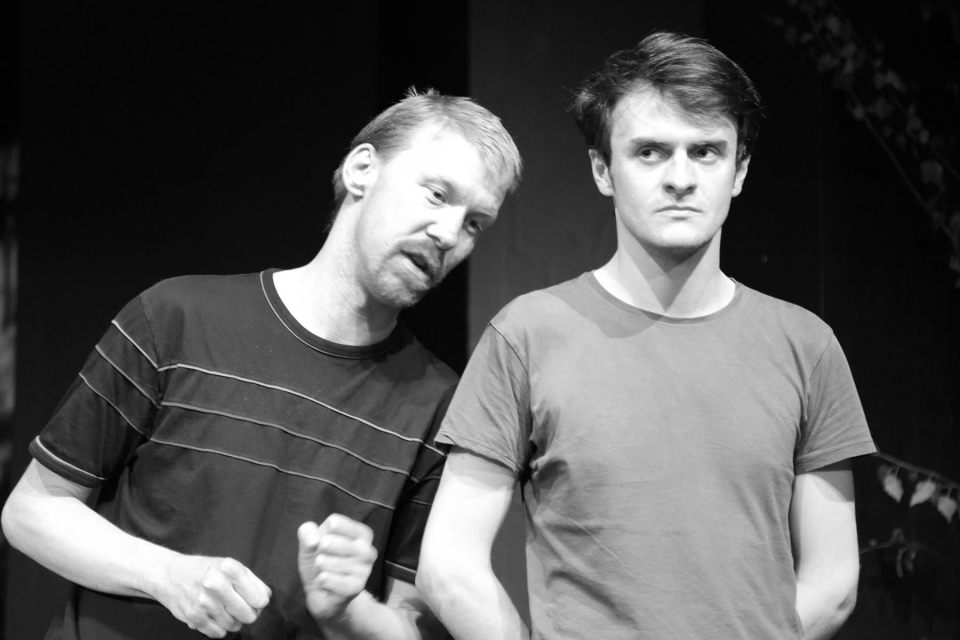 James Whitby and Daniel Potts in Ivanov, 2017