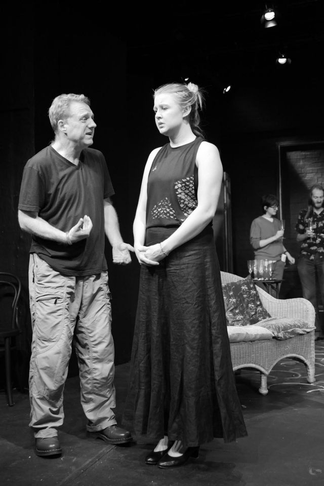 Hugh Jenkins and Gina Rafford in Ivanov, 2017