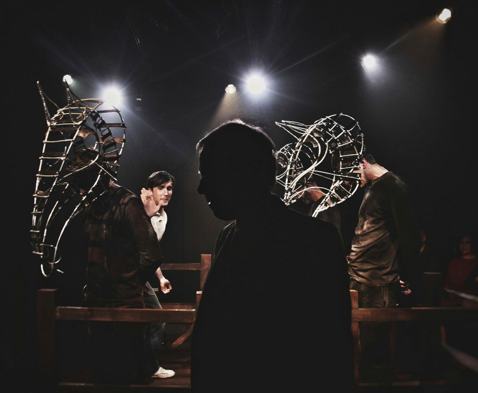 Jak Truswell & Fraser Wanless in Equus, 2018