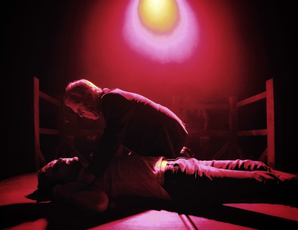 Fraser Wanless & Jak Truswell in Equus, 2018