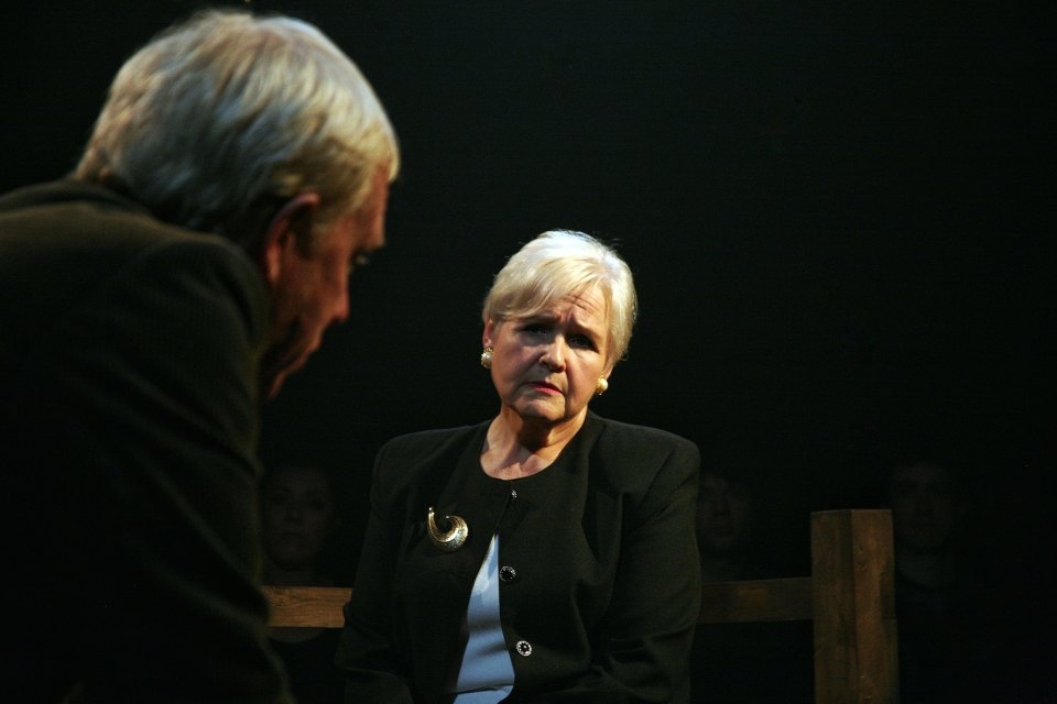 Carol Parkinson in Equus, 2018
