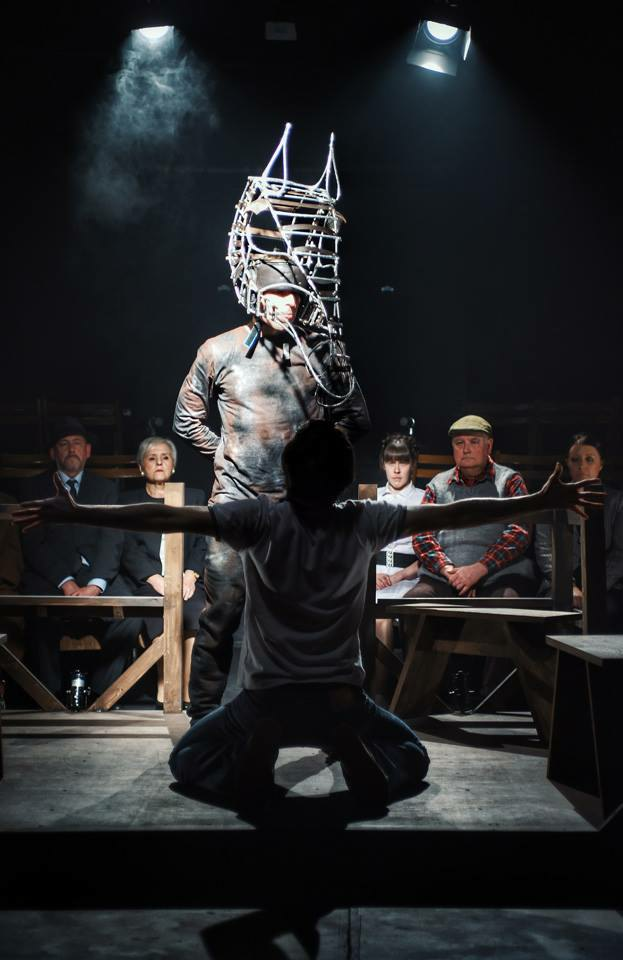 Mark James in Equus, 2018