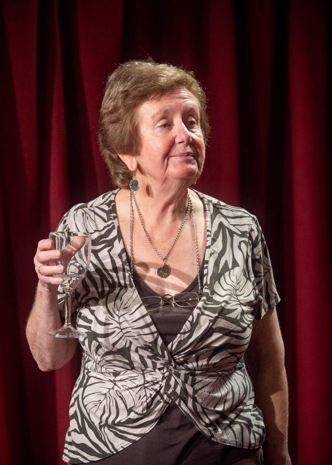 Hazel Salisbury in The Knot of the Heart, 2018