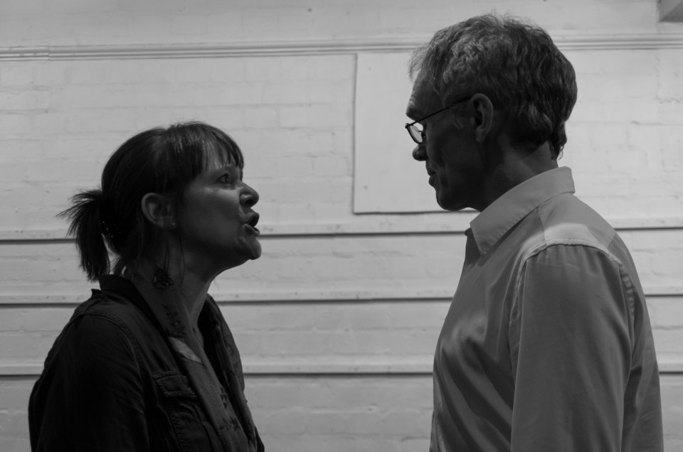 Dawn Price and Ian Currie in Otherwise Engaged, 2018