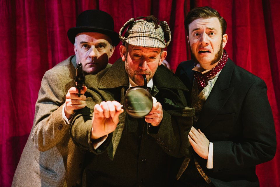 Richard, John and Jamie in The Hound of the Baskervilles, 2018