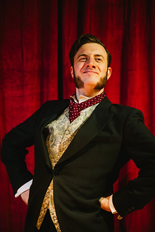 Jamie Goodliffe in The Hound of the Baskervilles, 2018