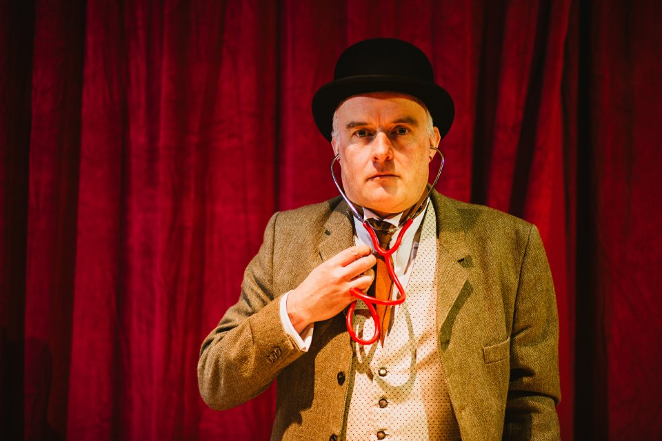 Richard Young in The Hound of the Baskervilles, 2018