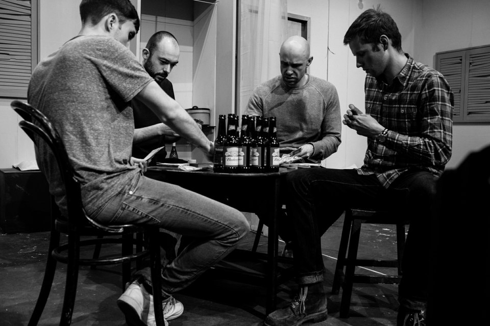 Jak, Kelvin, Paul and John in A Streetcar Named Desire, 2019