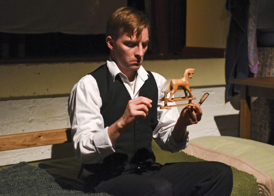 AJ Stevenson in Foxfinder, 2019