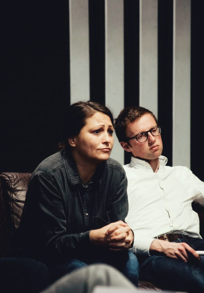 Laura Chambers and John Halstead in Consent, 2019