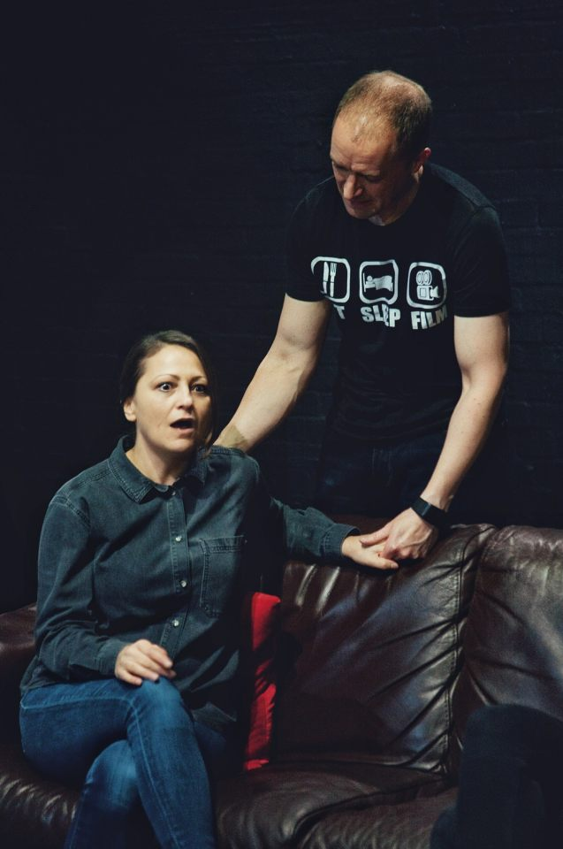 Laura Chambers and Mark Gadsby in Consent, 2019