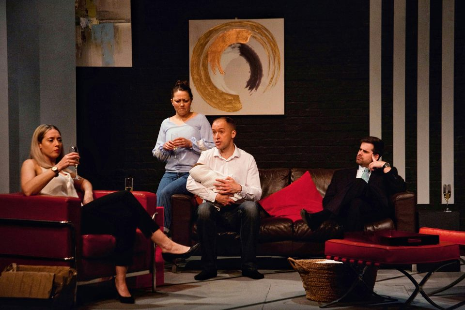 Charlie, Laura, Mark and Matthew in Consent, 2019
