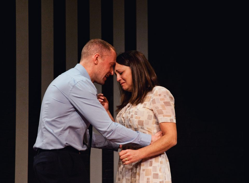 Mark Gadsby and Laura Chambers in Consent, 2019