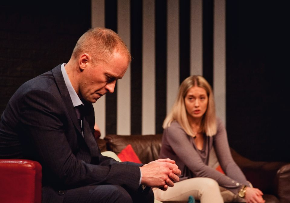 Mark Gadsby and Charlie Osborne in Consent, 2019