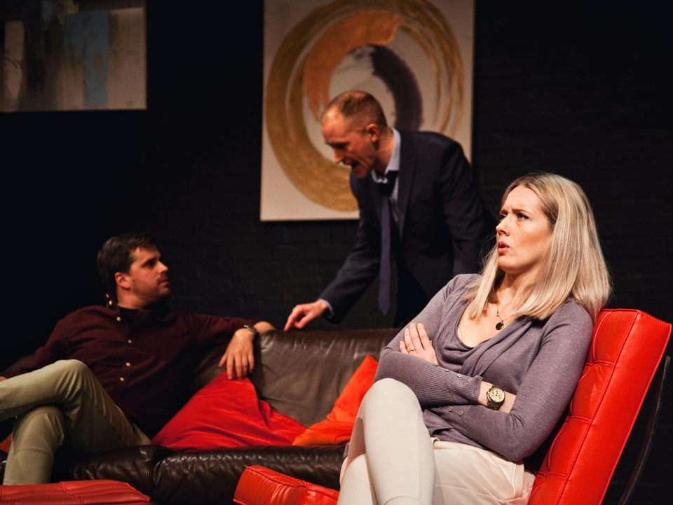 Matthew, Mark and Charlie in Consent, 2019