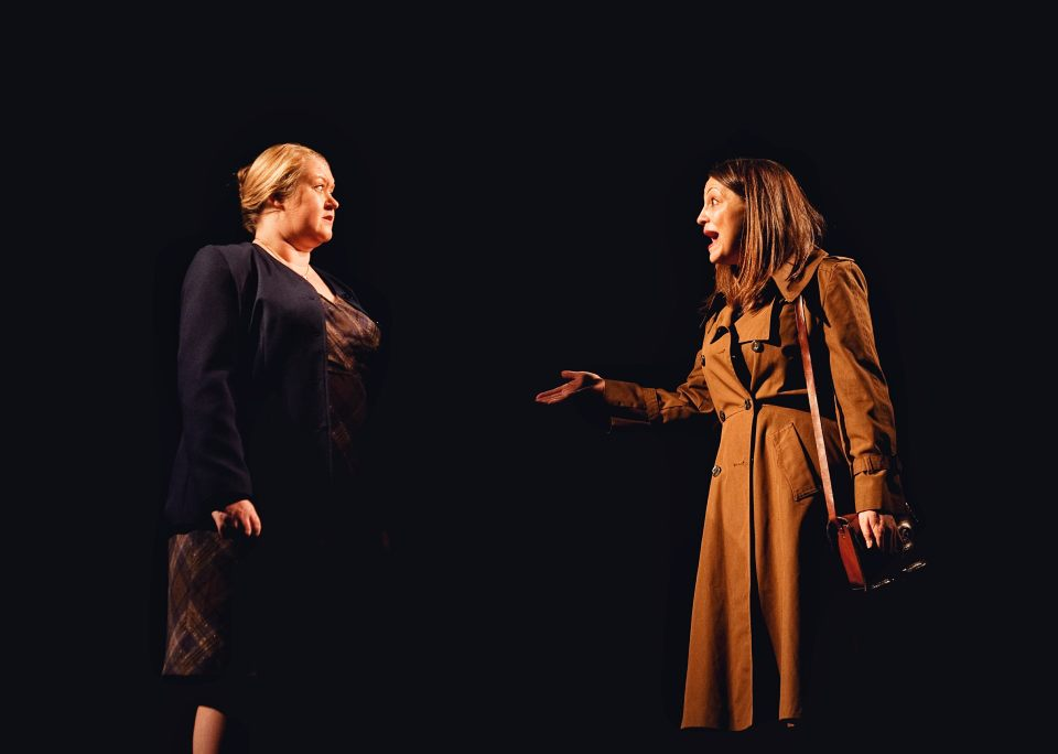 Michelle Smith and Laura Chambers in Consent, 2019