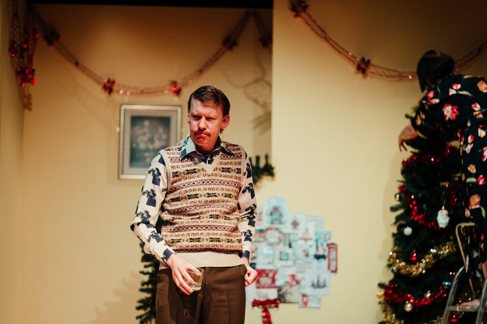 James Whitby in Season's Greetings, 2019