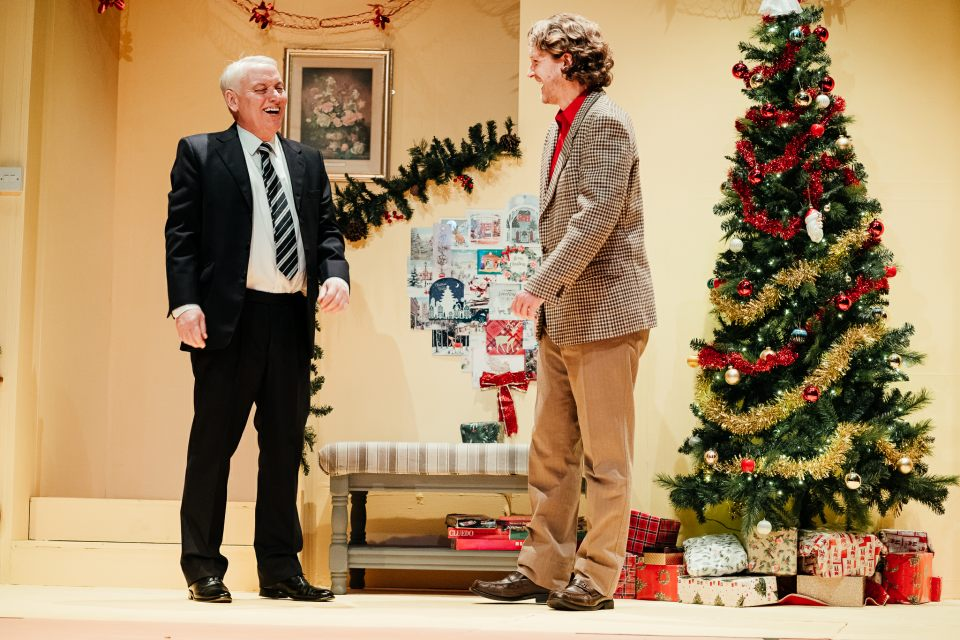 Stephen Herring and Steve Mitchell in Season's Greetings, 2019