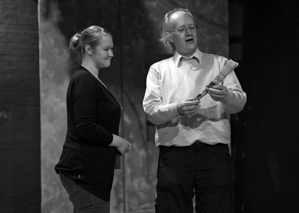 Michelle Smith and Richard Fife in The Firebird, 2013