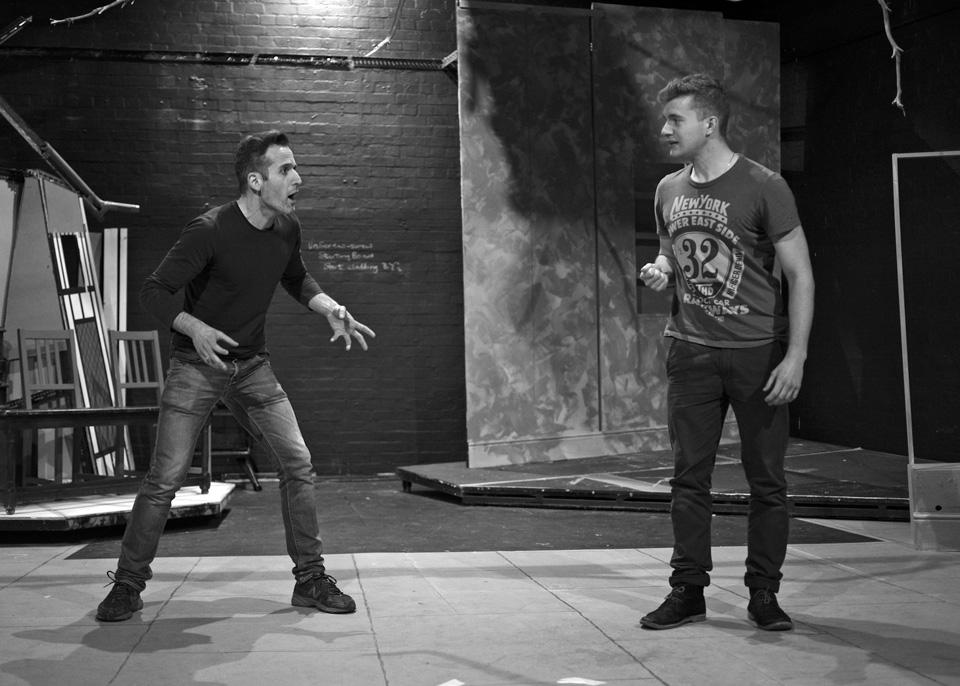 Damian Frendo and Martin Pikett in The Firebird, 2013