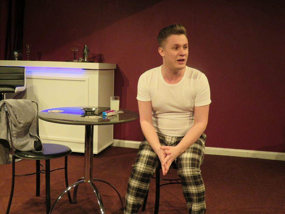 Lewis Brookbanks in Queers, 2020