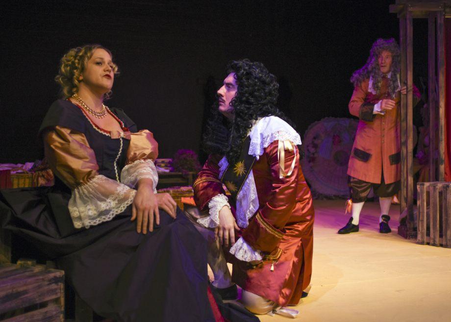 Clare, Jamie and David in Nell Gwynn, 2020