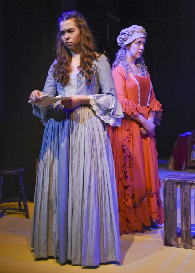 Georgia Wray and Georgie Sandland in Nell Gwynn, 2020