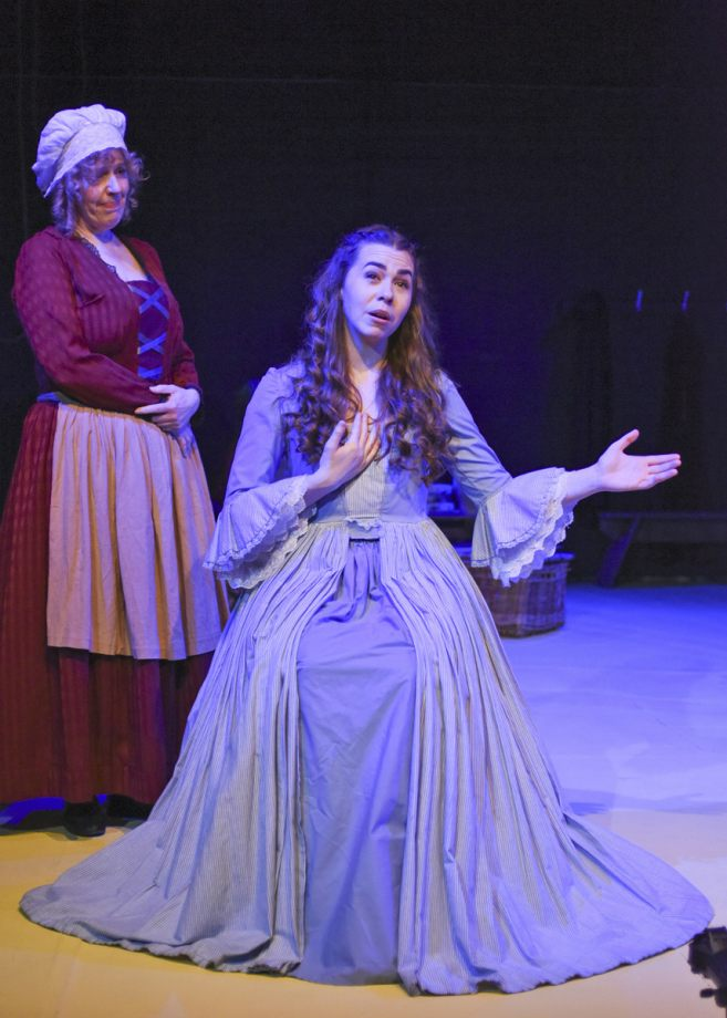 Alison Hope and Georgia Wray in Nell Gwynn, 2020