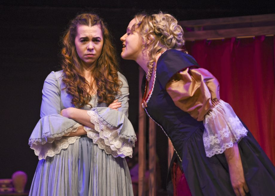 Georgia Wray and Clare Moss in Nell Gwynn, 2020